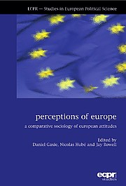 Couverture Perceptions of Europe