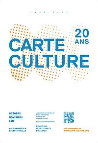 carte culture ministère de la culture L'Actu Numéro 62   Edition du 14/09/2012   Arts, sciences et culture