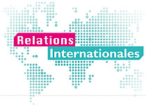 Logo Direction des relations internationales
