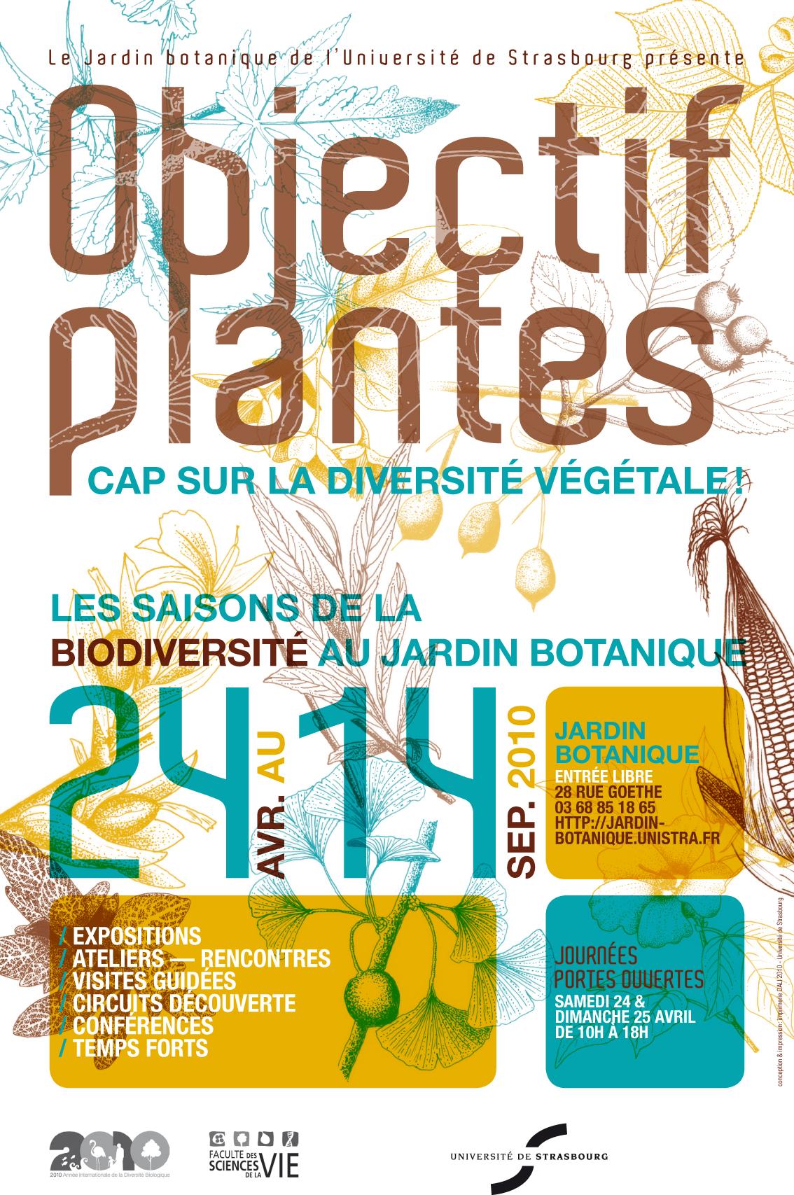 L 39 actu num ro 23 edition du 26 03 2010 culture art - Jardin botanique de l universite de strasbourg ...